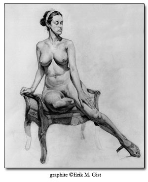 Watts Atelier of the Arts, LLC | Long Pose Figure Drawing: 15 Hour