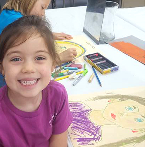 Art Apprentices, Adult & Child Ages 3-5