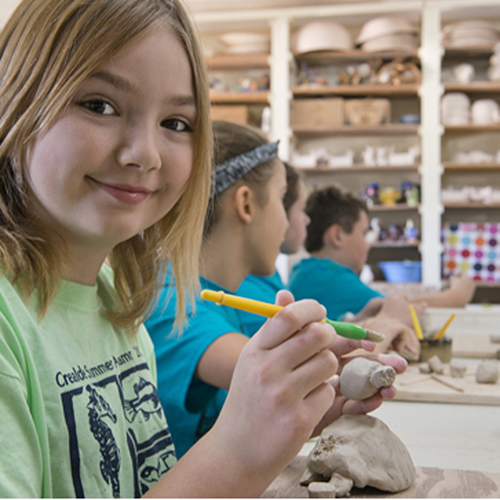 Creating with Clay  (WG) (ages 8-14)