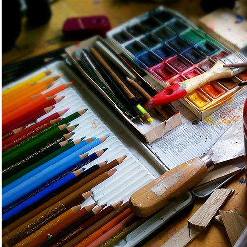 Intro to Drawing and Painting – M