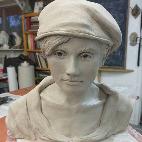 Demonstration Studio: Portrait in Clay