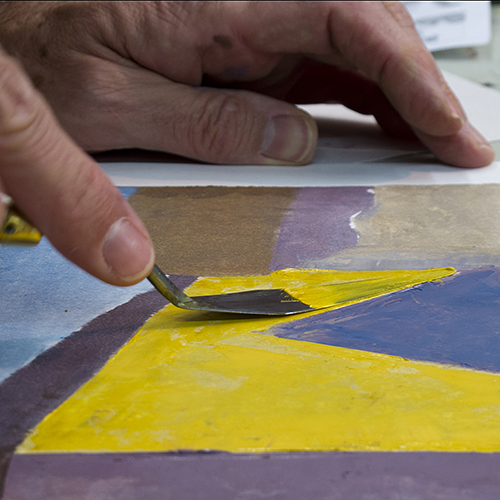 Demonstration Studio: Printmaking Techniques