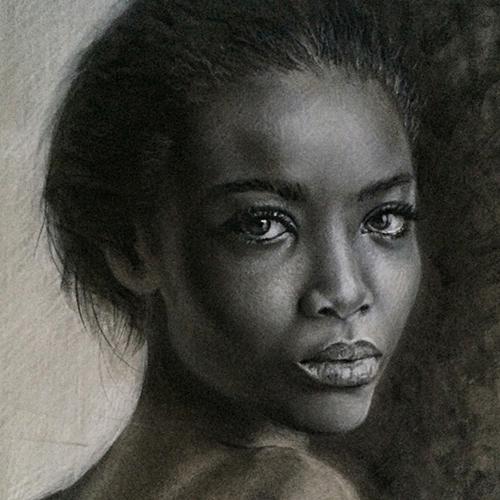 Demonstration Studio: Charcoal Portraits