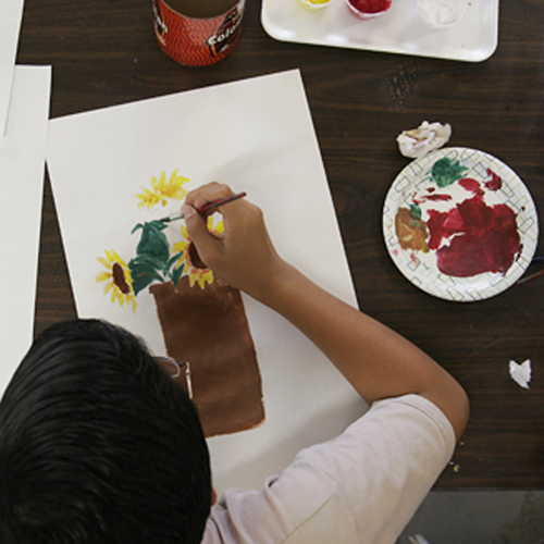 Painting & Drawing I (8-12yrs)