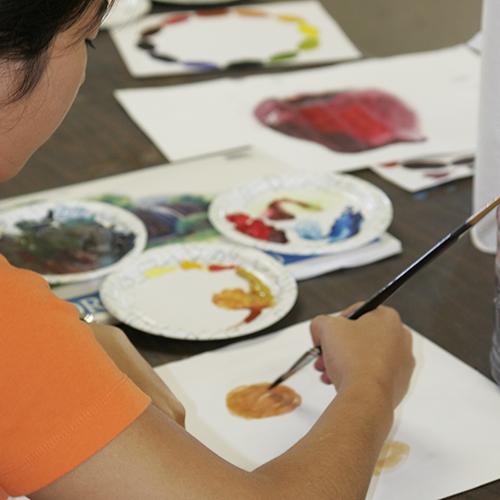 Watercolor & Mixed Media (8-12yrs)