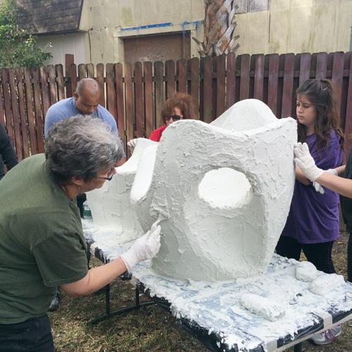 Concrete Sculpture Workshop
