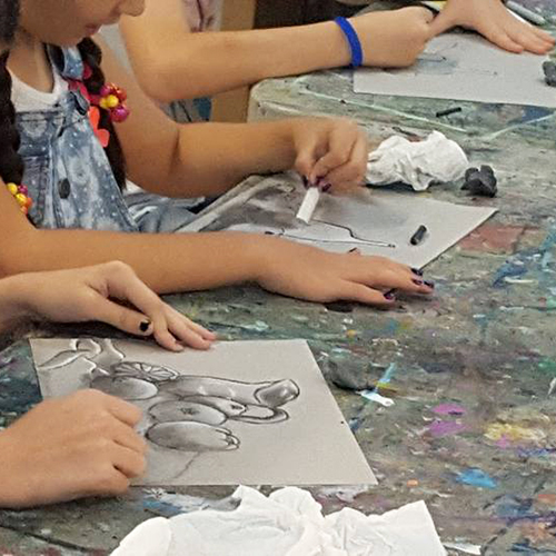 Painting & Drawing I (WG)  (ages 8-12)